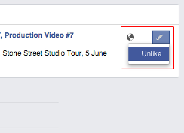 Facebook unlike pages