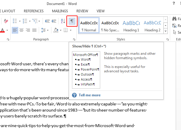 9 Secrets Of Microsoft Word Make The Most Of The Best Selling Word