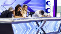 The Judges reacting to X Factor auditions