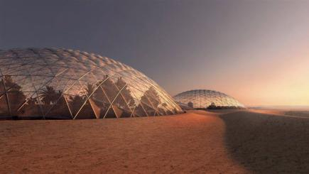 BIG will design massive Mars simulation city in the United Arab Emirates