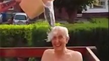 102-year-old takes on ice bucket challenge