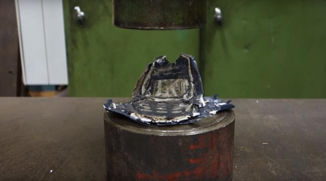 13 objects you need to see getting crushed by a hydraulic press bt
