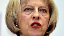"Launching the Government's modern slavery strategy, Home Secretary Theresa May said the scale of abuse was ""shocking"""