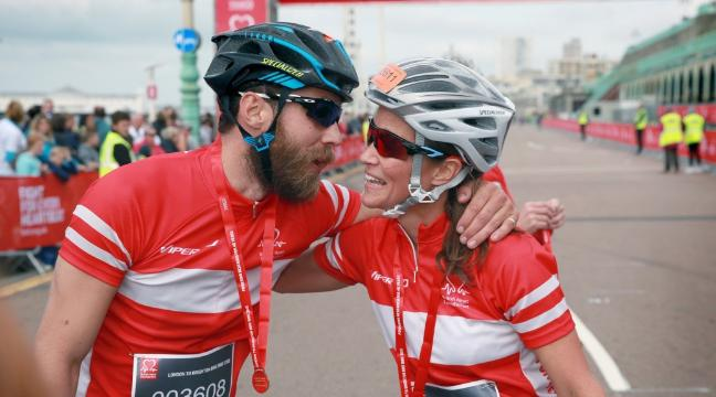 London To Brighton Cycle 2017 >> 17 Pictures Of Pippa Middleton Not Cycling During The London To