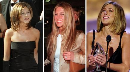 19 stages of Jennifer Aniston's famous hair throughout the years