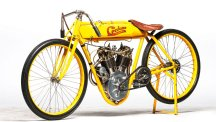 1915 Cyclone motorcycle once owned by actor Steve McQueen.