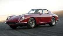 1967 Ferrari 275 GTB/4 once owned by actor Steve McQueen.  Picture credit: Darin Schnabel/RM Auctions.