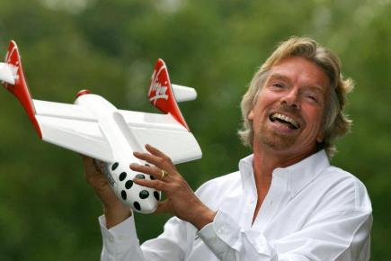 Sir Richard Branson said he will fly with his children on the inaugural Virgin Galactic flight later this year