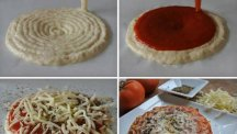 3D printed pizza toppings