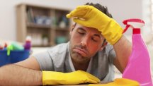 6 reasons men are hopeless at housework