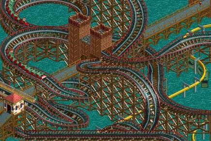 7 games that should be films but wont Rollercoaster Tycoon