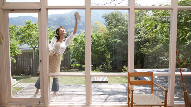 7 Money Saving Ways To Clean Your Windows With And Cheerful