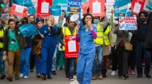 7 pictures which capture the vibe of the junior doctors' protest march