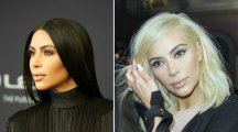 9 celebs who have traded their dark locks for the platinum look like Kim K