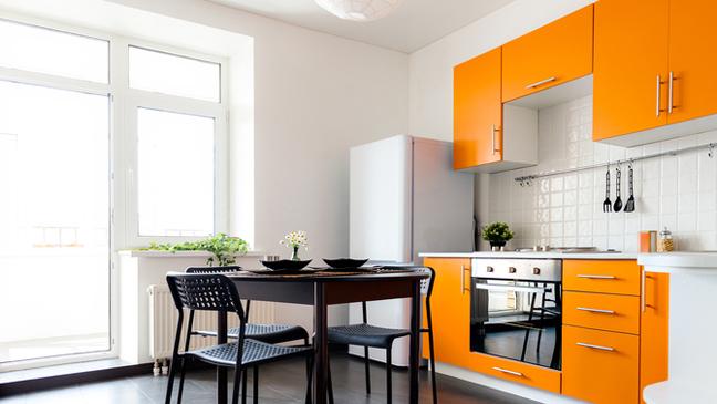 9 Ways To Add Colour To A Dark Kitchen Bt