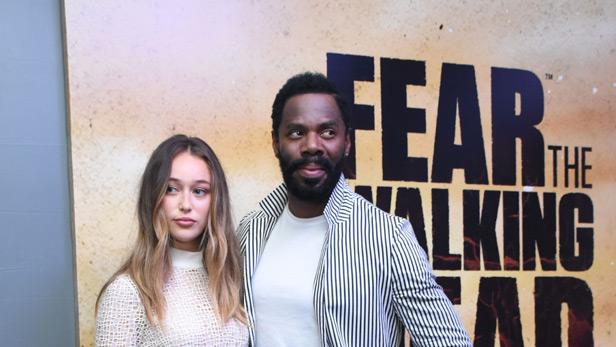 Alycia and Colman Fear the Walking Dead