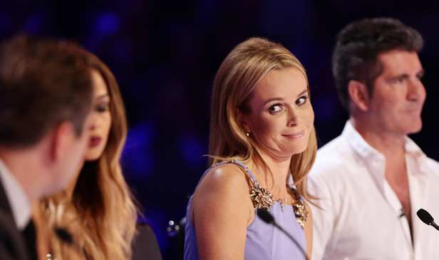 Amanda Holden on Britain's Got Talent