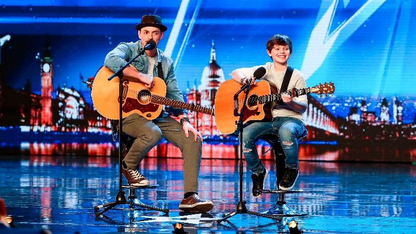 Tim and Jack Goldacre on Britain's Got Talent