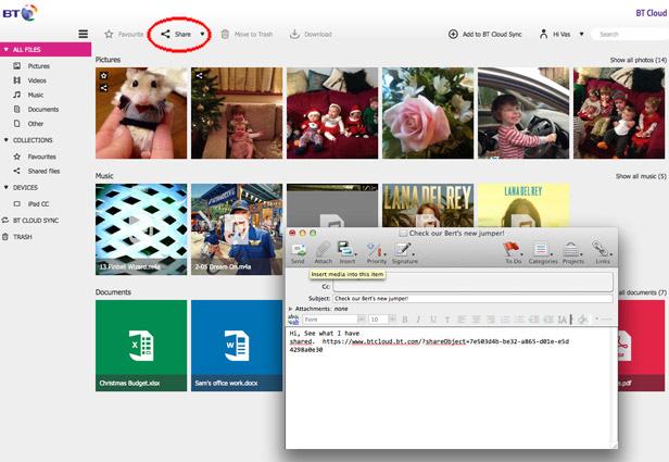 BT Cloud Photo Upload 3 new