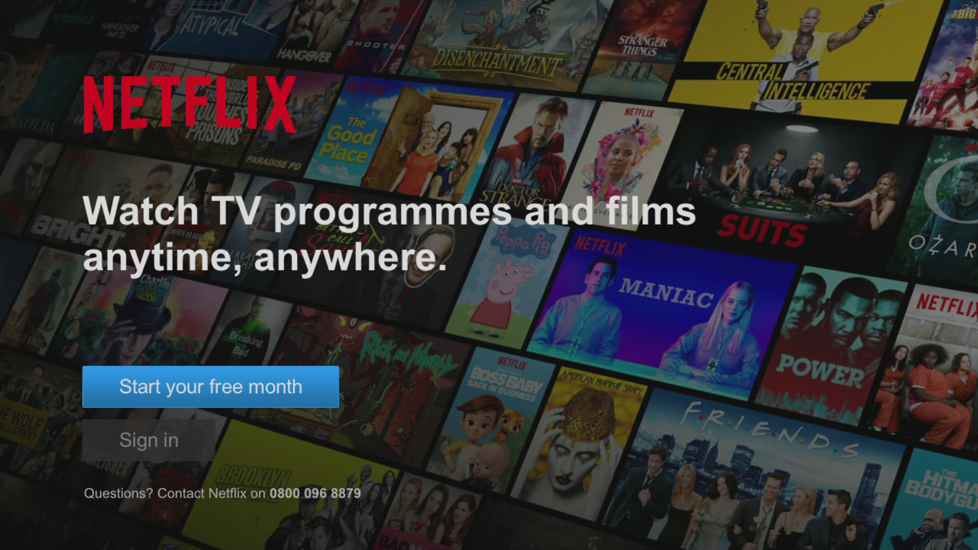 Watch Netflix with BT TV