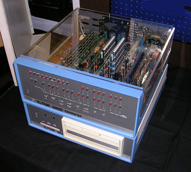 Altair 8800. Image courtesy Wikimedia Commons