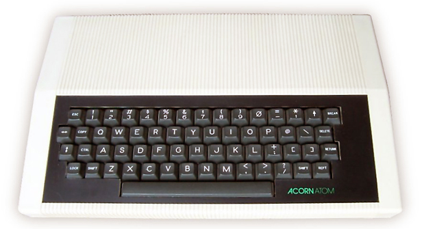 Acorn Atom. Imaghe courtesy Wikimedia Commons.
