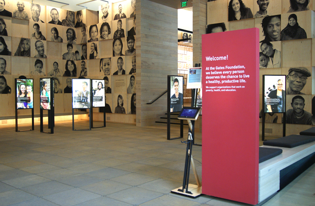 Gates Foundation. Image courtesy Wikimedia Commons.