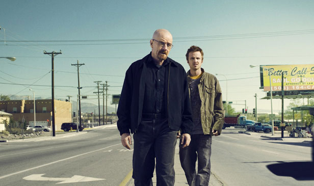 Breaking Bad on AMC - Bryan Cranston and Aaron Paul