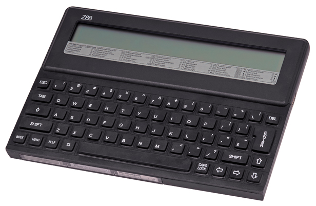 1988: Cambridge Z88, Image credit: Wikimedia Commons