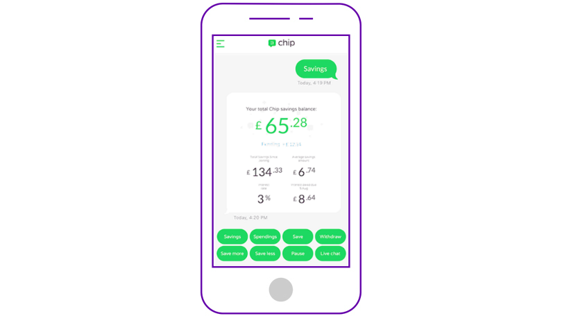 Chip smart banking app
