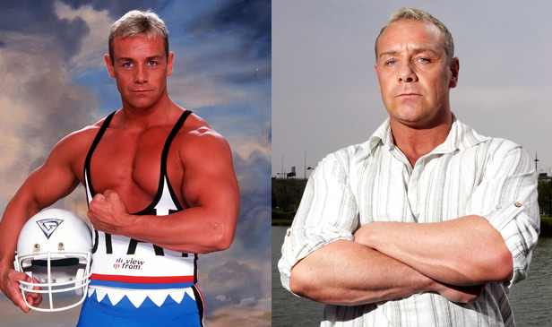Cobra in Gladiators - Then and Now
