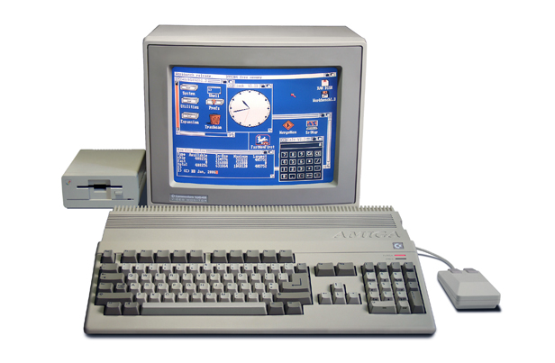 1985: Commodore Amiga, Image credit: Wikimedia Commons