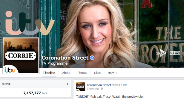 Coronation Street Facebook
