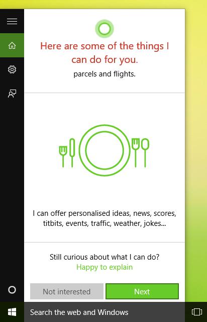 Activate Cortana