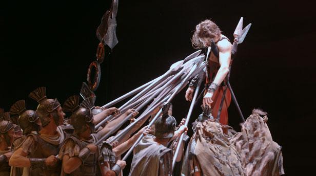 Still from the documentary Dancer.