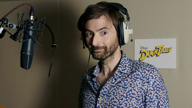 David Tennant in new DuckTales