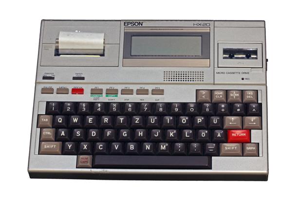 1982: Epson HX-20, Image credit: Wikimedia Commons