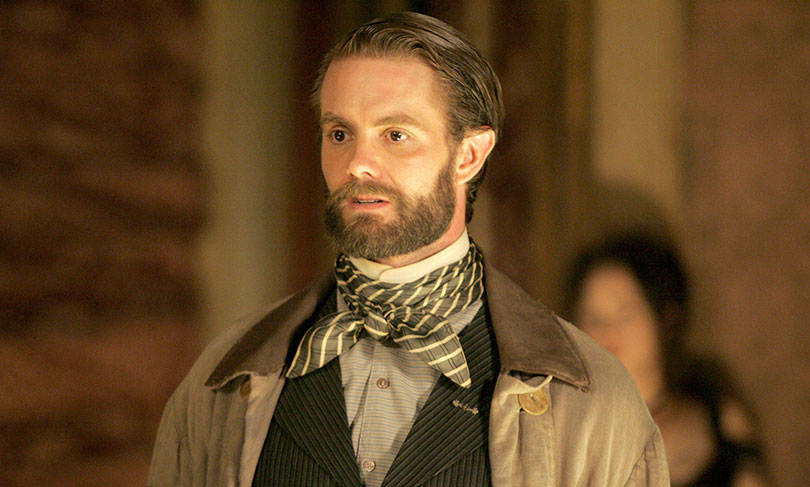 Garret Dillahunt in HBO's Deadwood.  Photo credit: HBO/Roscoe Prods./Kobal/REX/Shutterstock