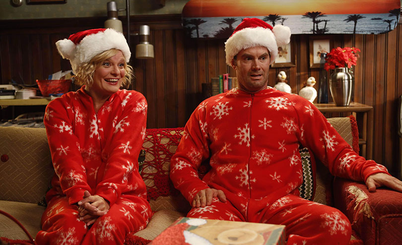 Martha Plimpton and Garret Dillahunt in Raising Hope.  Photo credit: 20th Century Fox TV/Kobal/REX/Shutterstock