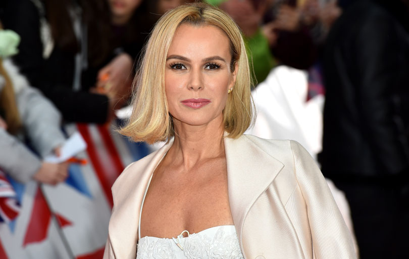 Amanda Holden at the London Palladium in 2017.