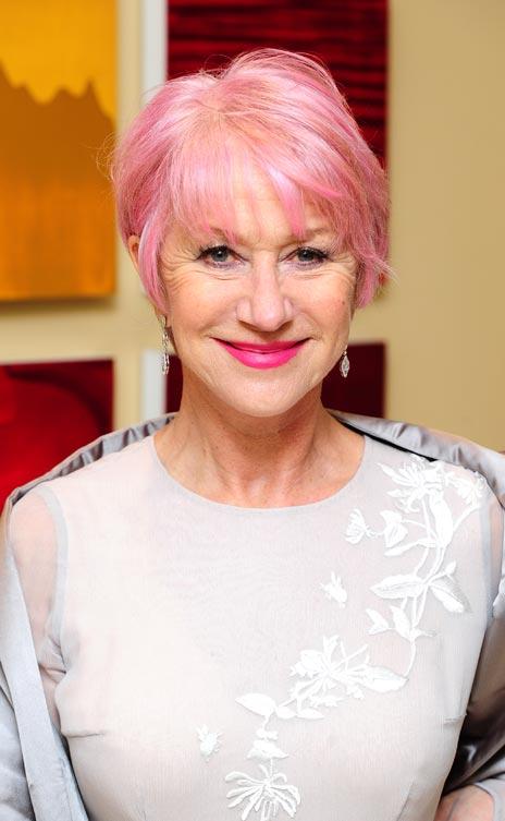 Helen Mirren I Cut My Own Hair Bt