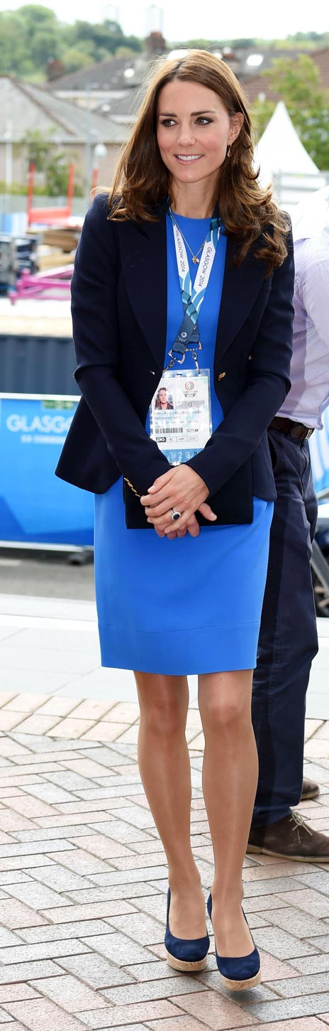 Kate rewears designer dress for Commonwealth Games - BT