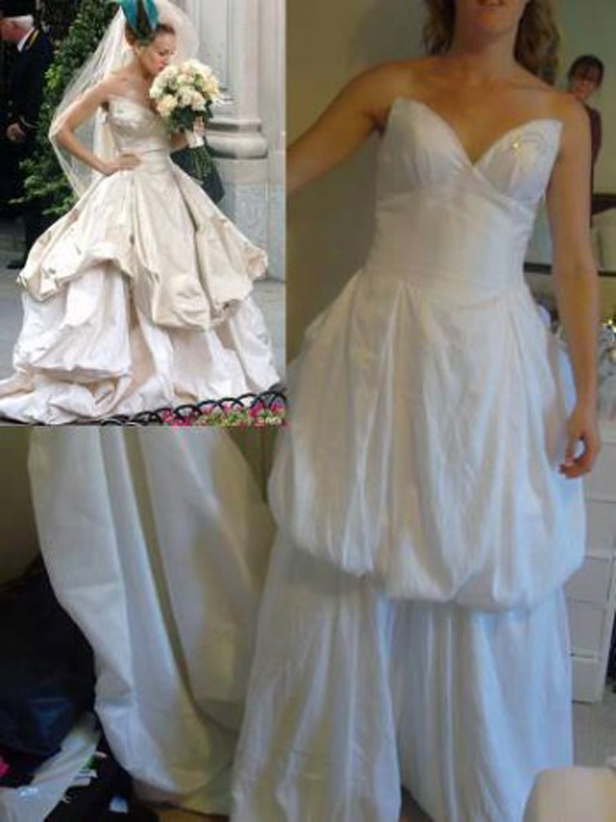Beware the knock off dresses why you shouldn t buy cheap for Purchase wedding dress online