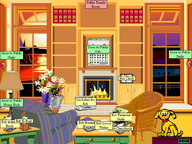 Microsoft Bob interface