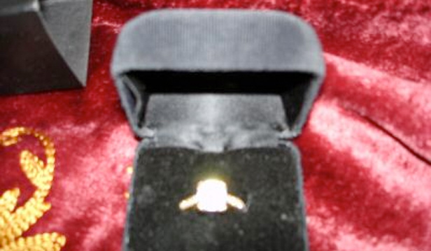 Example of bad photo on eBay. Very blurred ring