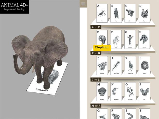 Animal 4D+ app