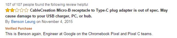 Amazon USB-C review