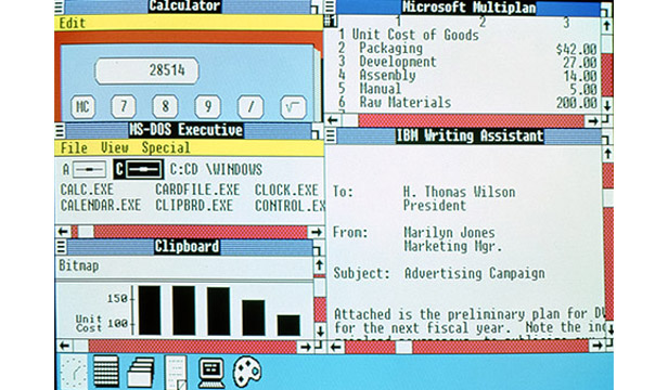Windows 2.0 interface