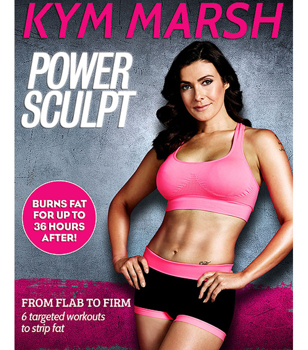Kym Marsh Power Sculpt As The Le Suggests S Dvd