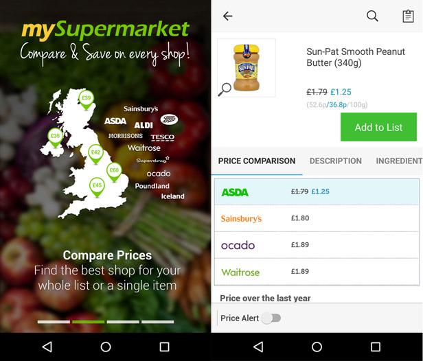 My Supermarket app
